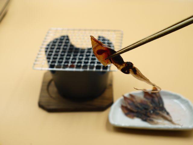 ホタルイカ干物の食べ方
