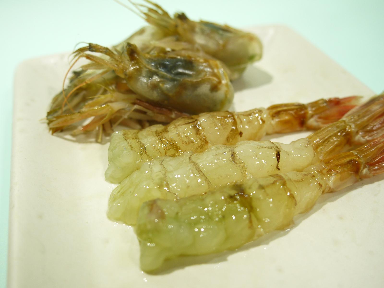 日本海産ガスエビのお刺身