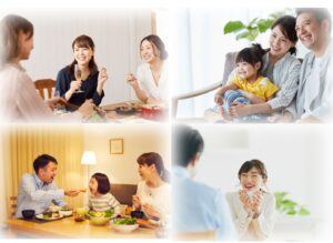 家族や友人との大切な時間