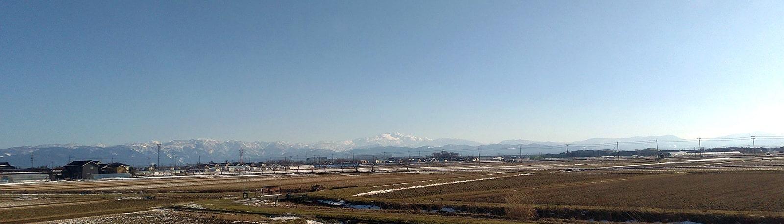 自然豊かな霊峰白山の風景