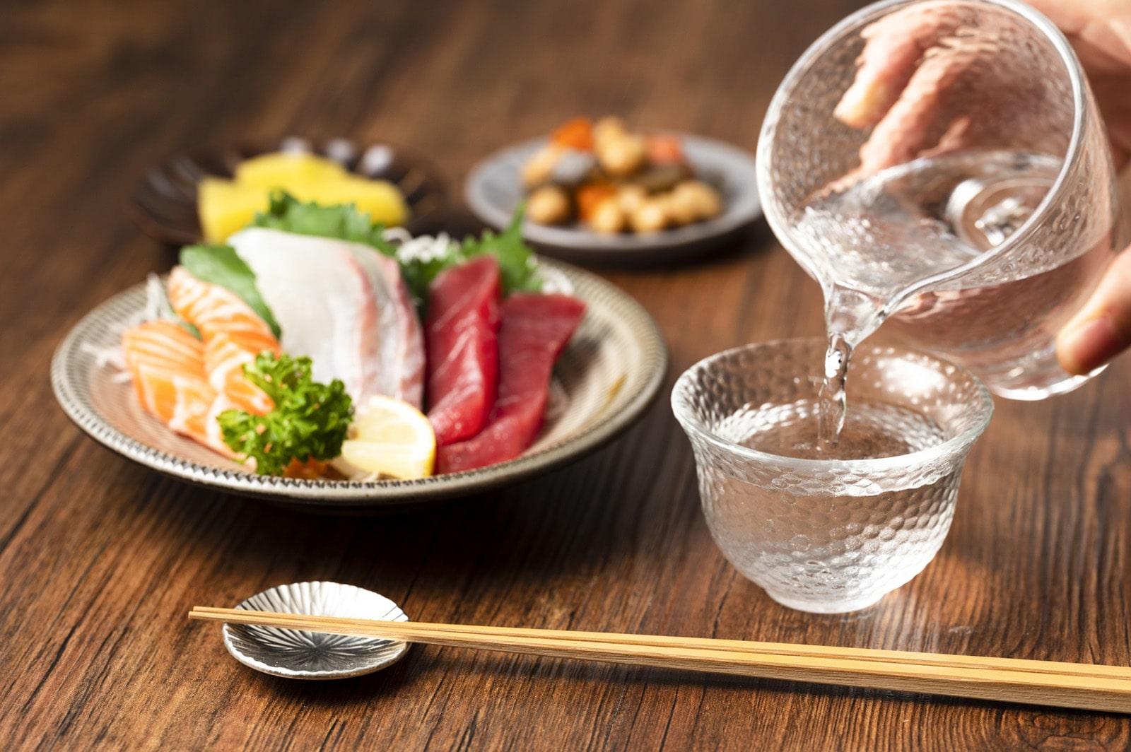日本酒と料理