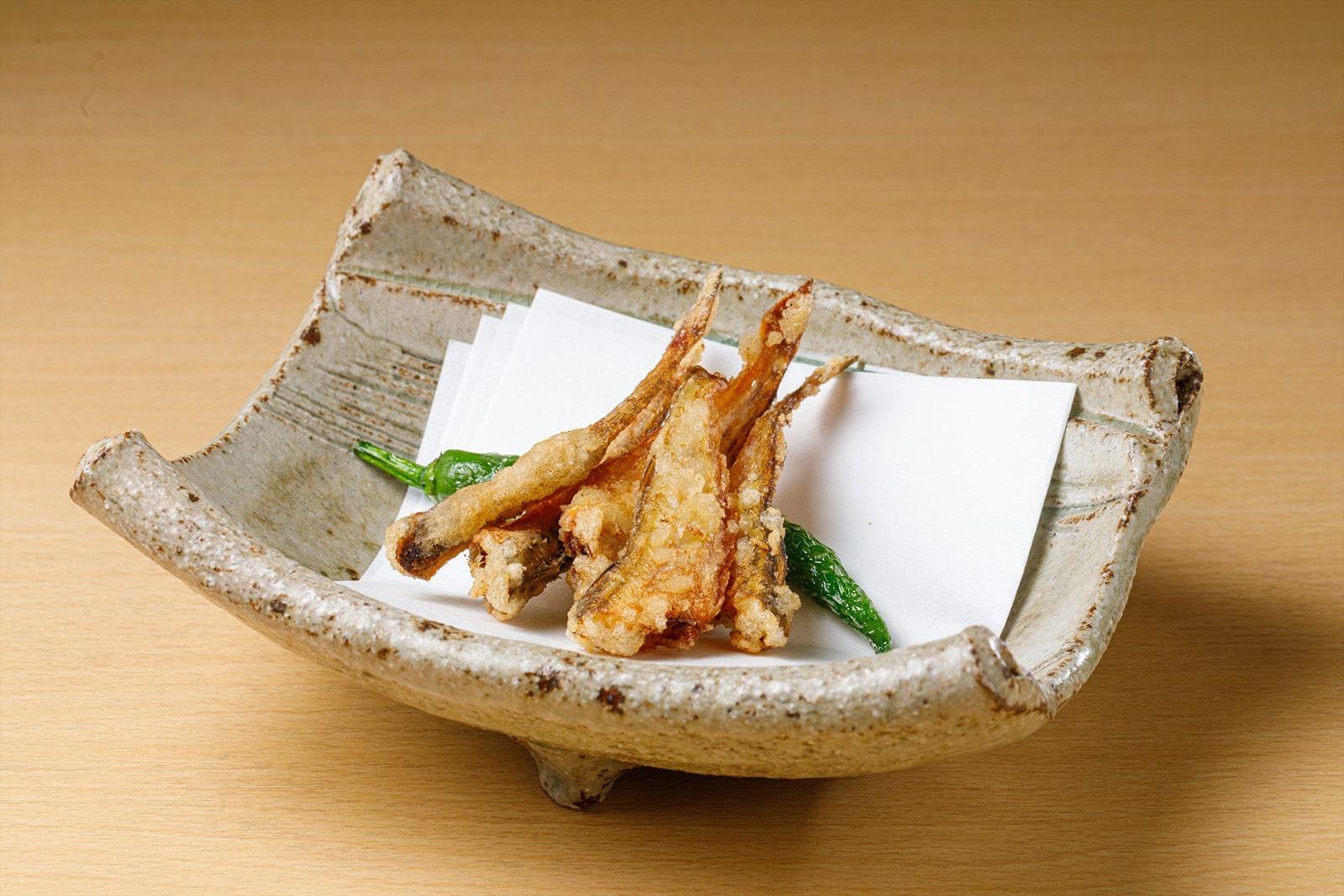 日本海産はたはた下処理済み調理例